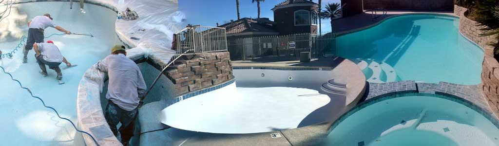 pool resurfacing las vegas nv